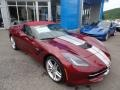 Chevrolet Corvette Stingray Convertible Long Beach Red Metallic Tintcoat photo #10