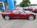 Chevrolet Corvette Stingray Convertible Long Beach Red Metallic Tintcoat photo #11