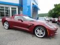 Chevrolet Corvette Stingray Convertible Long Beach Red Metallic Tintcoat photo #16