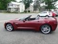 Chevrolet Corvette Stingray Convertible Long Beach Red Metallic Tintcoat photo #17