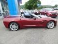 Chevrolet Corvette Stingray Convertible Long Beach Red Metallic Tintcoat photo #19