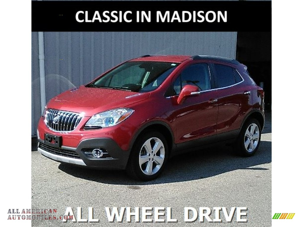 2015 Encore Convenience - Ruby Red Metallic / Ebony photo #1