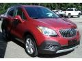 Buick Encore Convenience Ruby Red Metallic photo #3