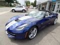 Chevrolet Corvette Stingray Coupe Admiral Blue Metallic photo #4