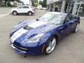 Chevrolet Corvette Stingray Coupe Admiral Blue Metallic photo #6