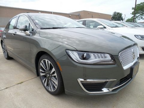 Jade Green 2017 Lincoln MKZ Reserve
