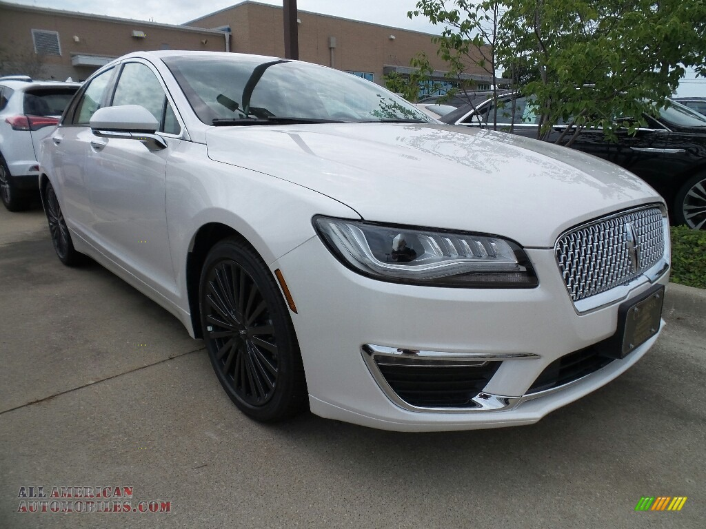 2017 MKZ Reserve - White Platinum / Cappuccino photo #1