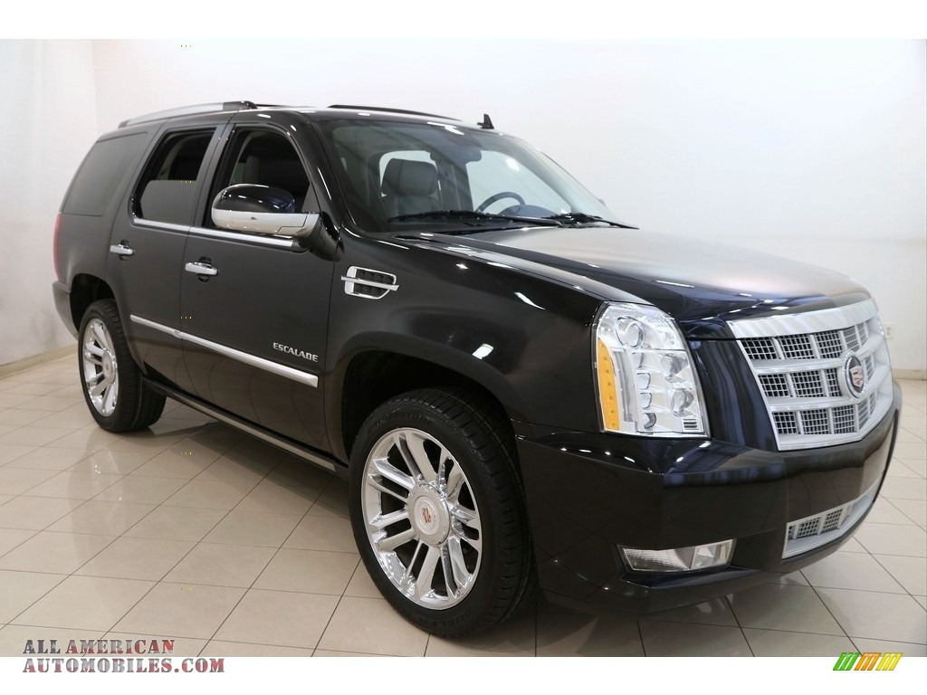 2013 Escalade Platinum AWD - Black Raven / Ebony photo #1