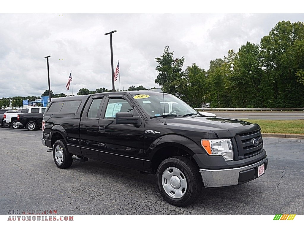 2009 ford f150 xl supercab in black b13527 all american automobiles buy american cars for. Black Bedroom Furniture Sets. Home Design Ideas