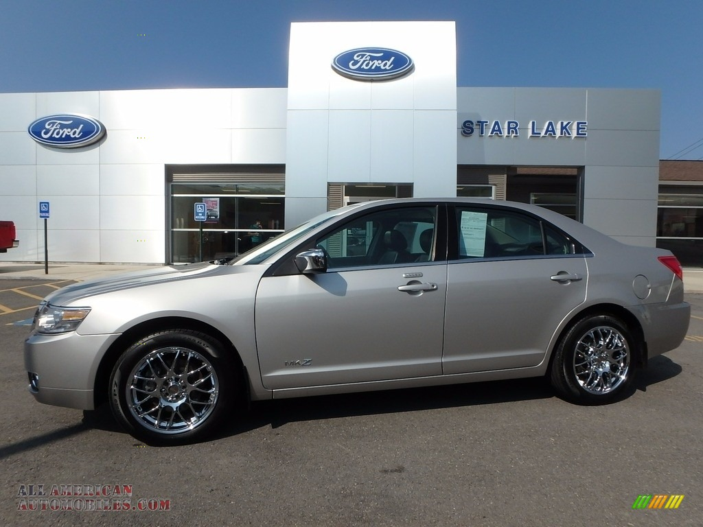 2007 MKZ AWD Sedan - Silver Birch Metallic / Dark Charcoal photo #1
