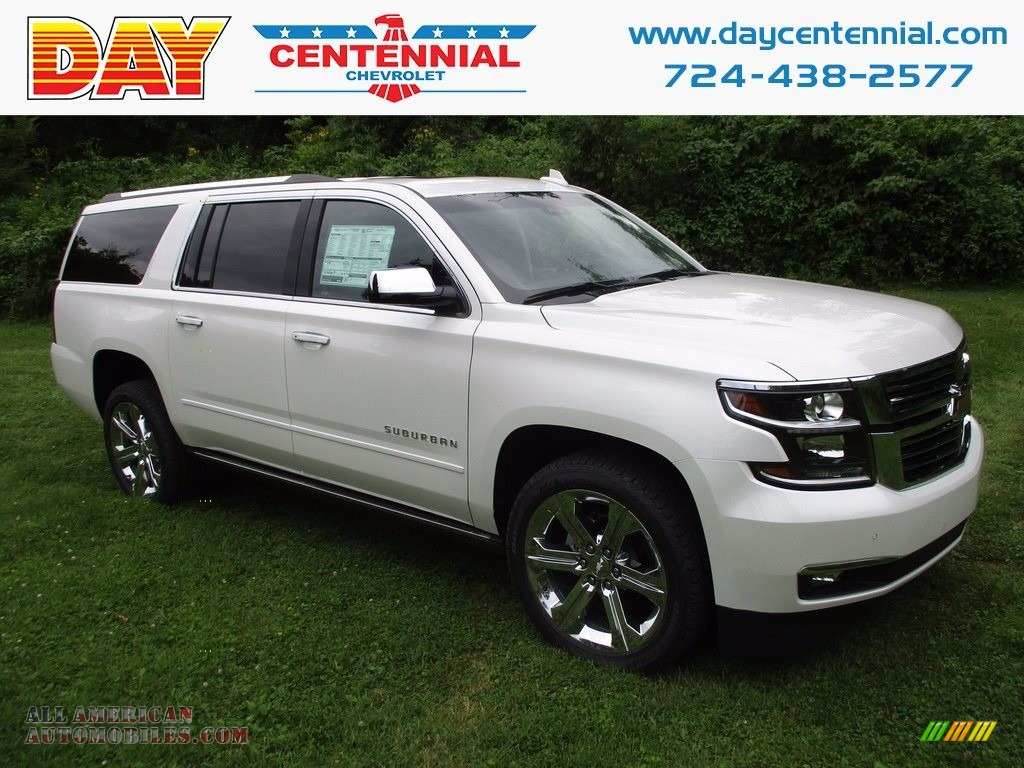 2017 chevrolet suburban premier 4wd in iridescent pearl tricoat for sale 377044 all american. Black Bedroom Furniture Sets. Home Design Ideas
