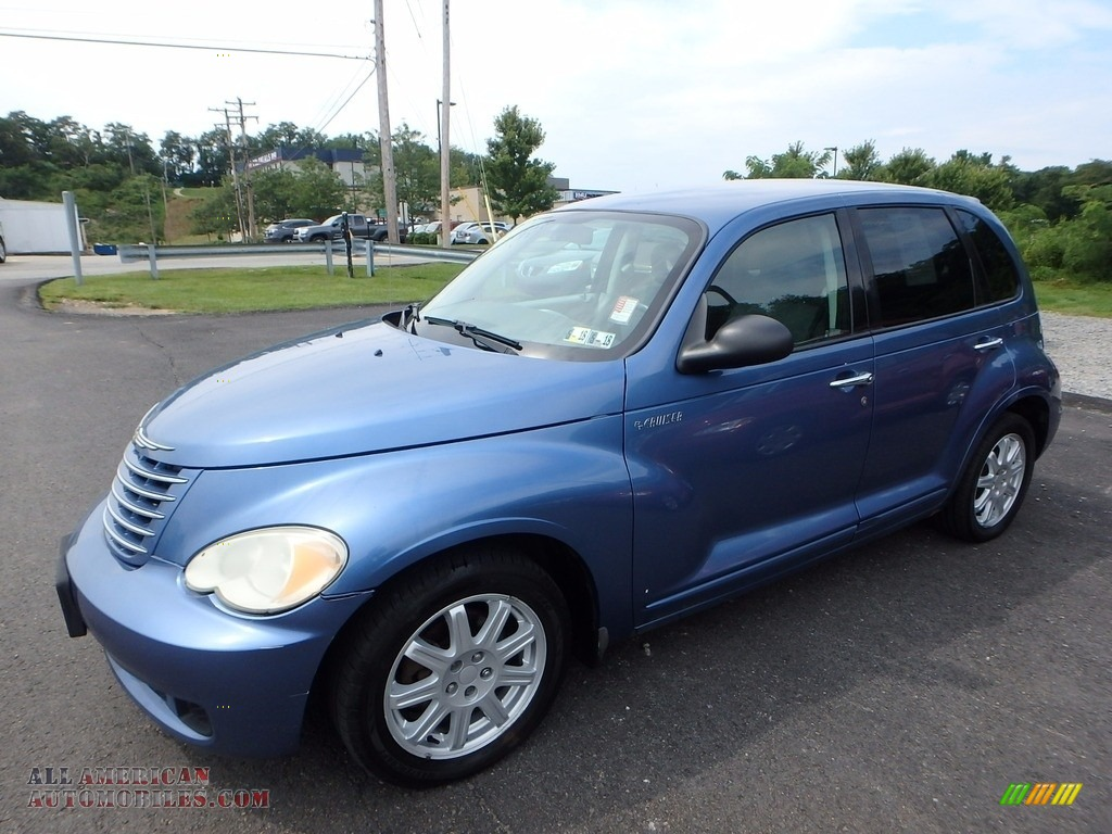 Electric Blue Pearl / Pastel Slate Gray Chrysler PT Cruiser Touring