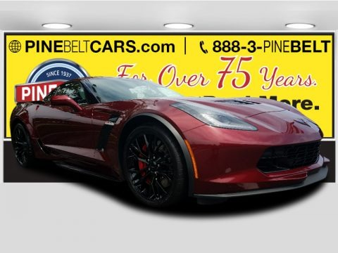Long Beach Red Metallic Tintcoat 2018 Chevrolet Corvette Z06 Coupe