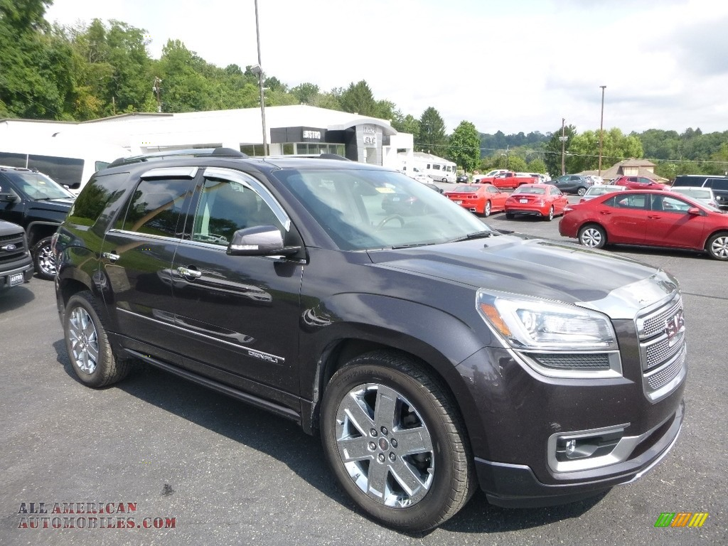 2014 Acadia Denali AWD - Cyber Gray Metallic / Ebony photo #1