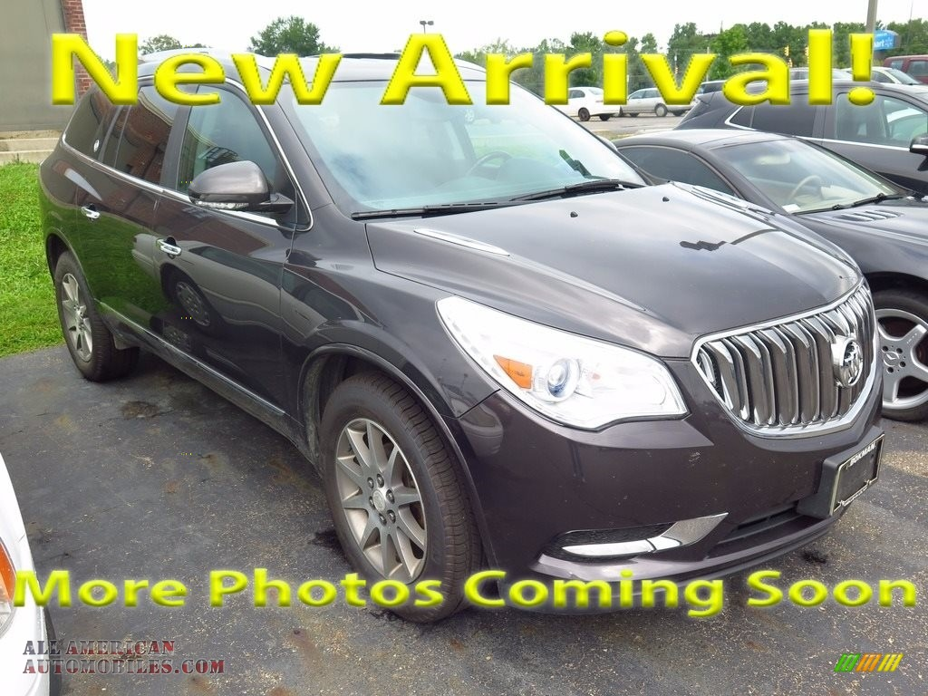 Cyber Gray Metallic / Ebony Buick Enclave Leather AWD