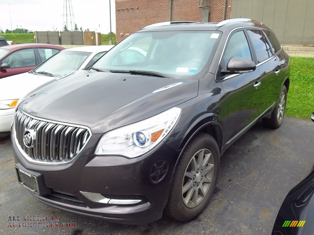 2014 Enclave Leather AWD - Cyber Gray Metallic / Ebony photo #3