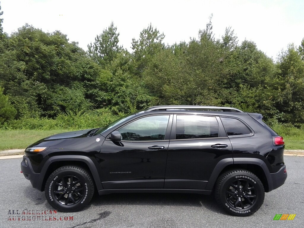 Ron Lewis Jeep >> 2017 Jeep Cherokee Trailhawk 4x4 in Diamond Black Crystal Pearl - 221241 | All American ...