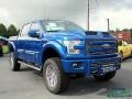 Ford F150 Tuscany FTX Edition Lariat SuperCrew 4x4 Lightning Blue photo #7