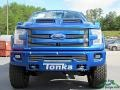Ford F150 Tuscany FTX Edition Lariat SuperCrew 4x4 Lightning Blue photo #8