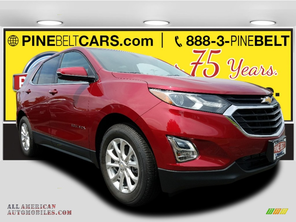 2018 Equinox LT AWD - Cajun Red Tintcoat / Jet Black photo #1
