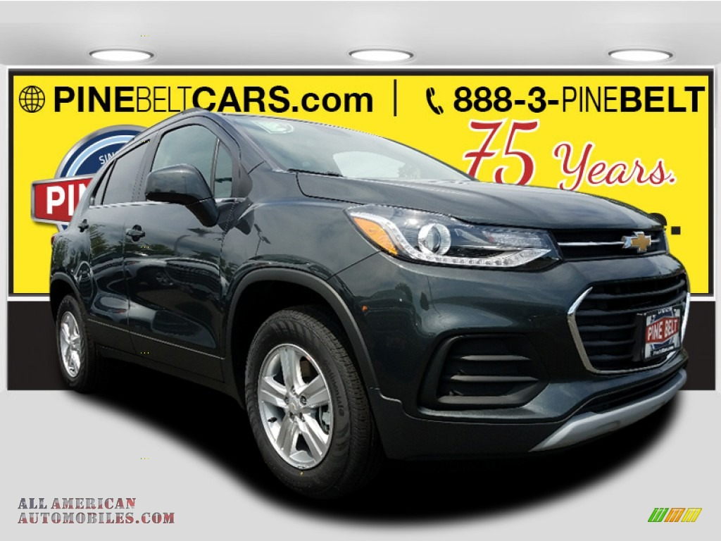 2017 Trax LT AWD - Nightfall Gray Metallic / Jet Black photo #1
