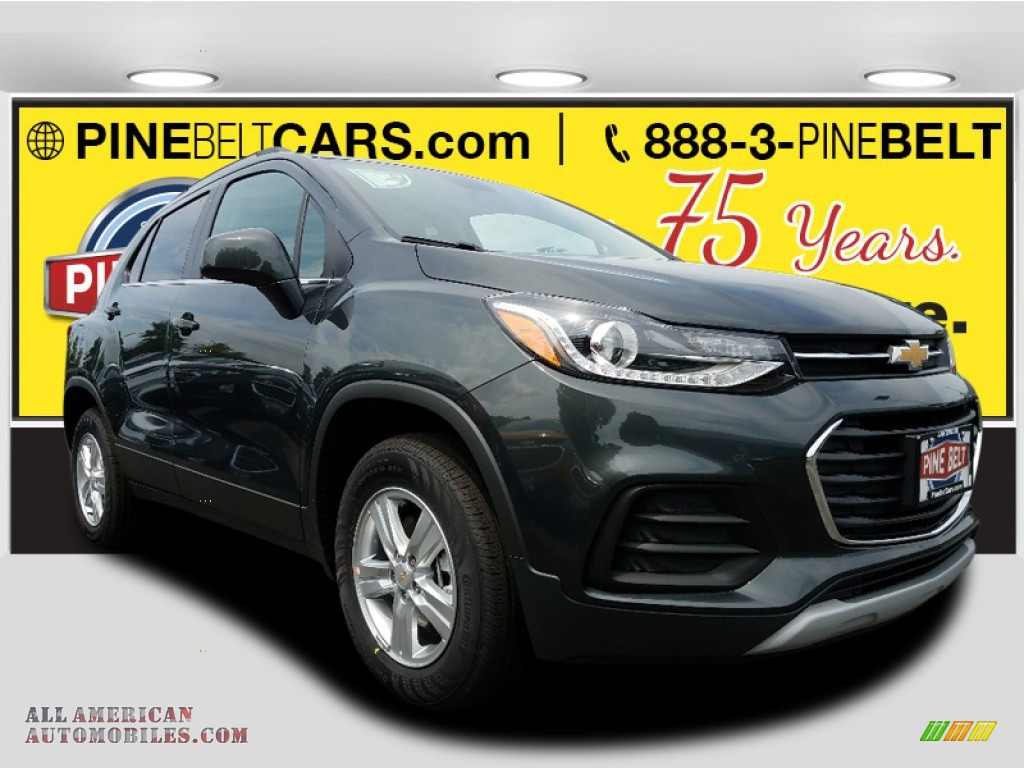 Nightfall Gray Metallic / Jet Black Chevrolet Trax LT AWD