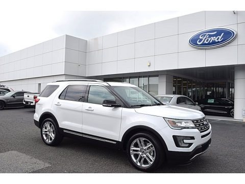 Oxford White 2017 Ford Explorer XLT