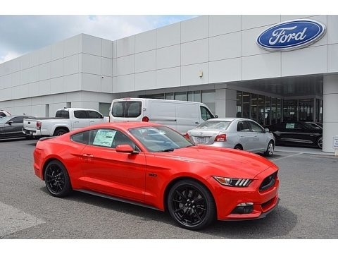 Race Red 2017 Ford Mustang GT Coupe