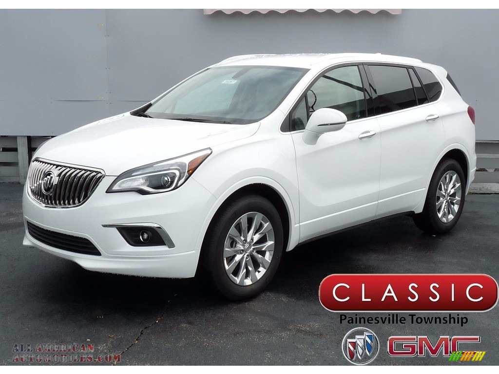 2017 buick envision essence in summit white 090341 all american automobiles buy american. Black Bedroom Furniture Sets. Home Design Ideas