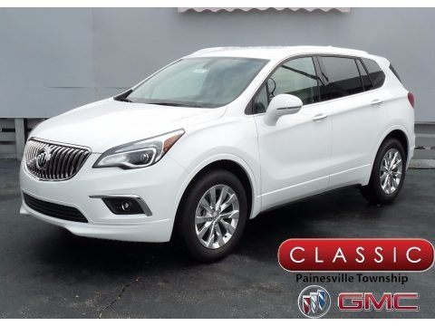 Summit White 2017 Buick Envision Essence