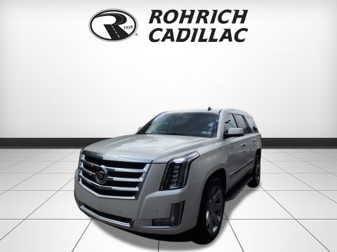 White Diamond Tricoat 2015 Cadillac Escalade Luxury 4WD