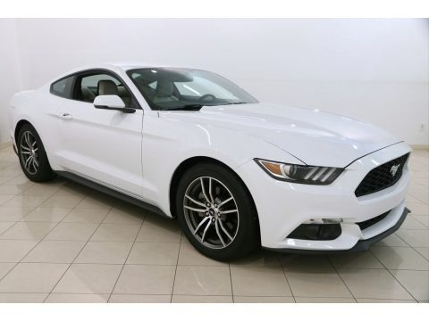 Oxford White 2017 Ford Mustang EcoBoost Coupe