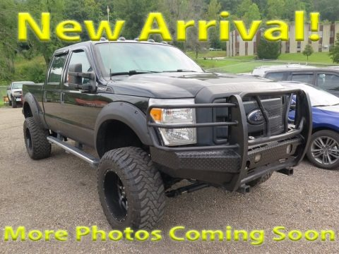 Tuxedo Black Metallic 2014 Ford F250 Super Duty XL Crew Cab 4x4