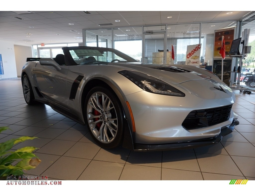 2017 Corvette Z06 Convertible - Blade Silver Metallic / Jet Black photo #1