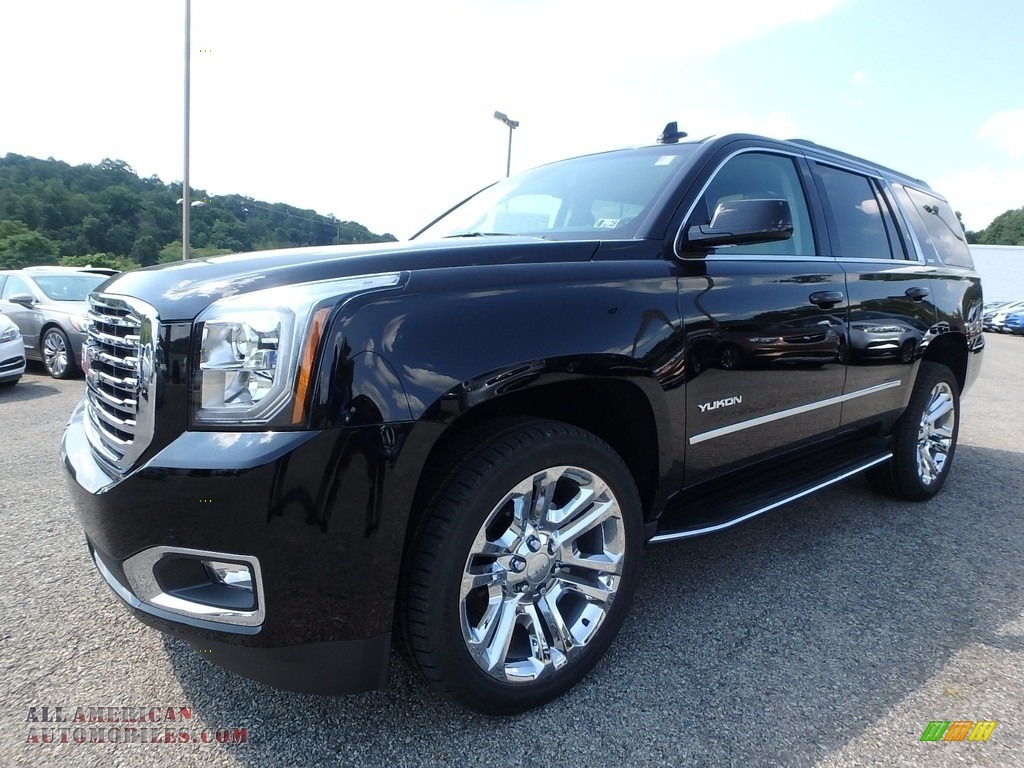 2017 gmc yukon slt 4wd in onyx black 384430 all american automobiles buy american cars for. Black Bedroom Furniture Sets. Home Design Ideas