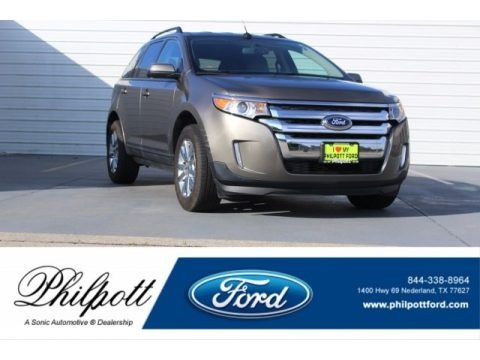 Mineral Gray 2014 Ford Edge SEL