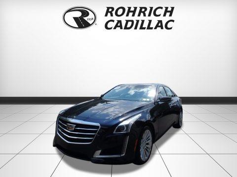 Dark Adriatic Blue Metallic 2016 Cadillac CTS 2.0T Luxury AWD Sedan