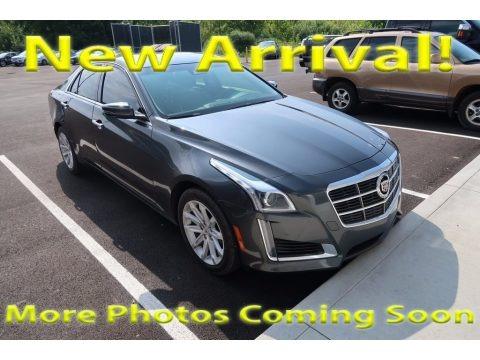 Phantom Gray Metallic 2014 Cadillac CTS Luxury Sedan AWD