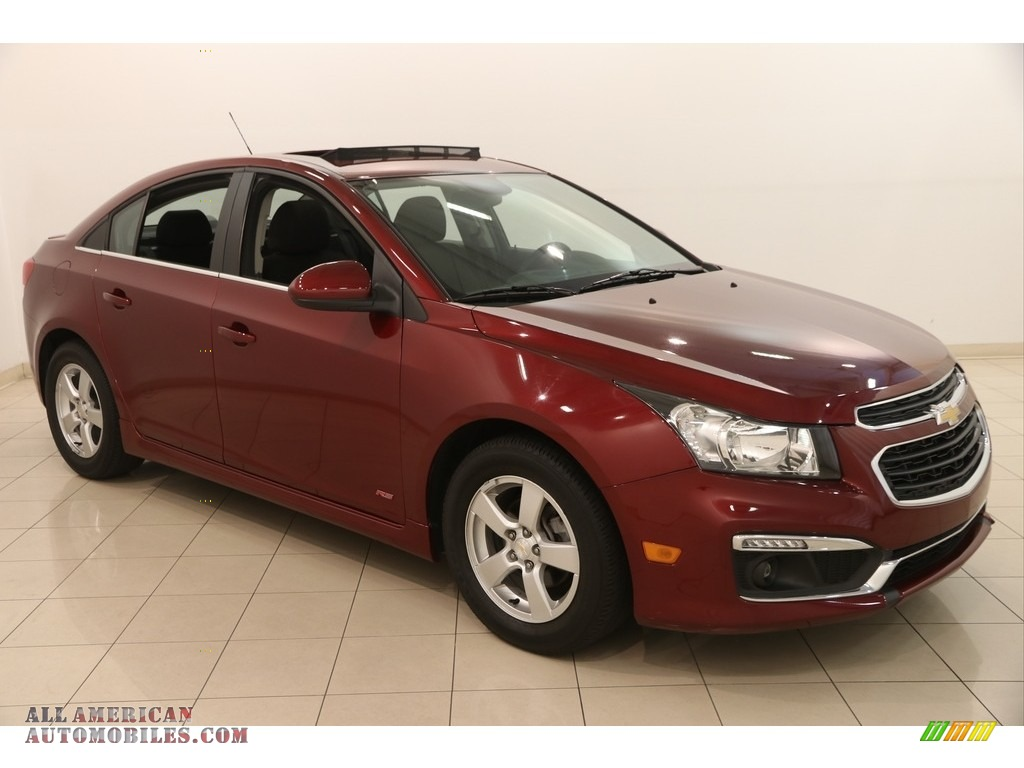 2016 chevrolet cruze limited lt in siren red tintcoat 176095 all american automobiles buy. Black Bedroom Furniture Sets. Home Design Ideas