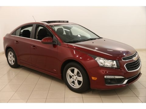 Siren Red Tintcoat 2016 Chevrolet Cruze Limited LT