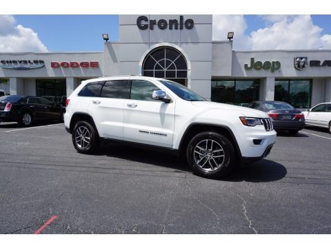 Bright White 2017 Jeep Grand Cherokee Limited