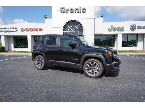 Black 2017 Jeep Renegade Latitude
