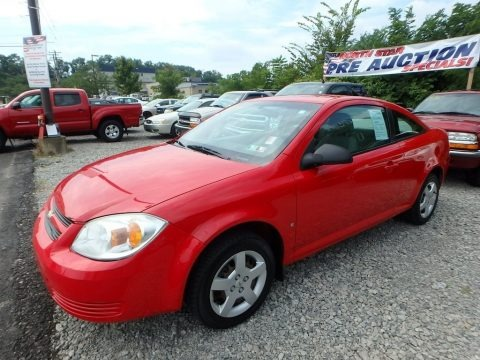 Victory Red 2006 Chevrolet Cobalt LS Coupe