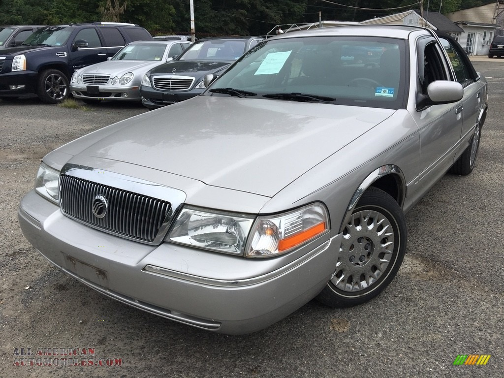 Silver Frost Metallic / Dark Charcoal Mercury Grand Marquis GS