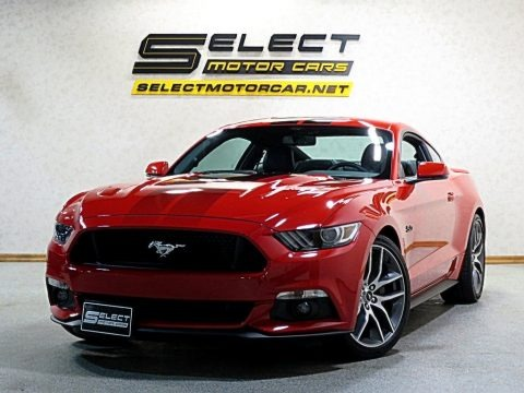 Race Red 2017 Ford Mustang GT Premium Coupe