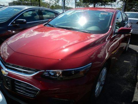 Cajun Red Tintcoat 2018 Chevrolet Malibu LT