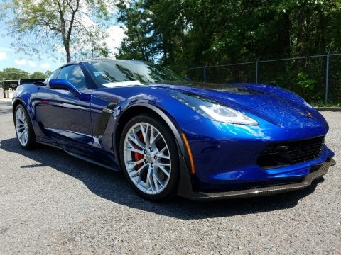 Admiral Blue 2017 Chevrolet Corvette Z06 Coupe