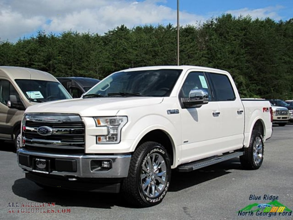 2017 ford f150 lariat supercrew 4x4 in white platinum e32881 all american automobiles buy. Black Bedroom Furniture Sets. Home Design Ideas