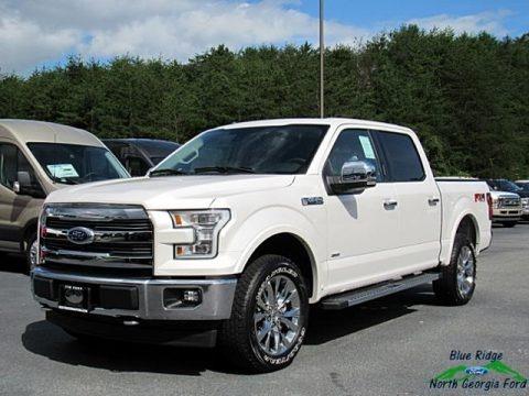 White Platinum 2017 Ford F150 Lariat SuperCrew 4X4