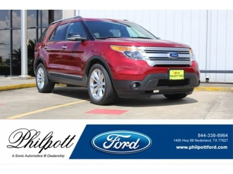 Ruby Red 2014 Ford Explorer XLT
